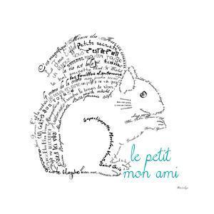 Le Petit Mon Ami Squirrel by Marion De Lauzun