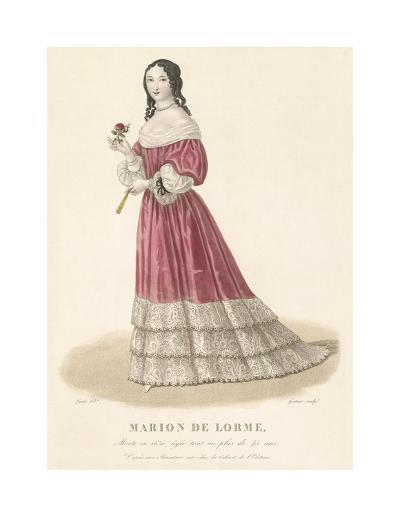 Marion de Lorme-Louis-Marie Lante-Premium Giclee Print