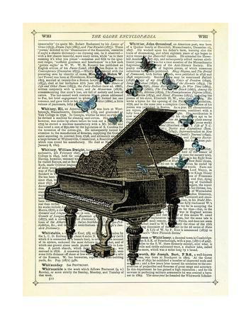 Piano & Butterflies