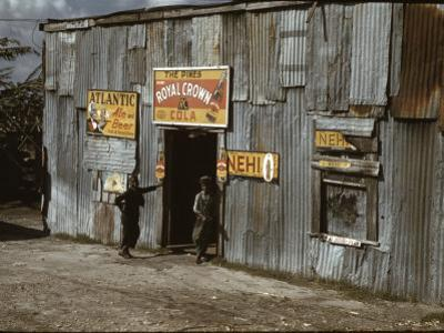 African American Juke Joint by Marion Post Wolcott