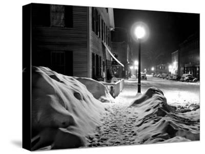Snowy Night, Woodstock, Vermont, 1940