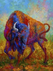 Bison Bull 1 by Marion Rose