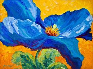 Blue Poppy 2 by Marion Rose