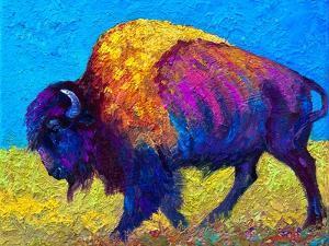 Prairie Dusk by Marion Rose