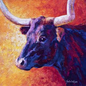 Violet Cow by Marion Rose