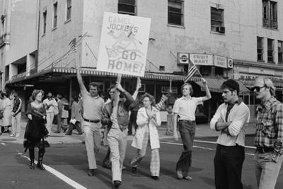 Iran Hostage Crisis student demonstration, Washington, D.C., 1979