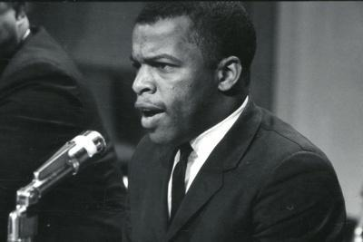 John Lewis at meeting of American Society of Newspaper Editors, Washington, DC