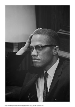 Malcolm X at MLK Press Conference, Washington DC, March, 1964