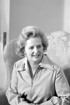 Margaret Thatcher as leader of the Conservative Party, 1975 by Marion S^ Trikosko