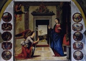 Annunciation by Mariotto Albertinelli