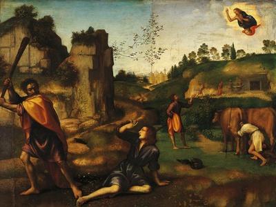 Cain Killing Abel, 1510-1515