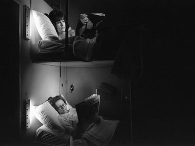 Two Woman Reading in the Wagon Lit