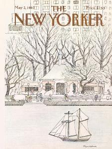 The New Yorker Cover - May 2, 1983 by Marisabina Russo