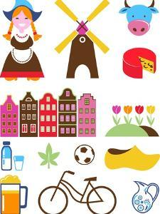 Collection Of Netherlands Icons by Marish