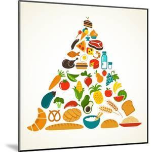 Health Food Pyramid by Marish