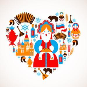 Russia Love - Heart by Marish