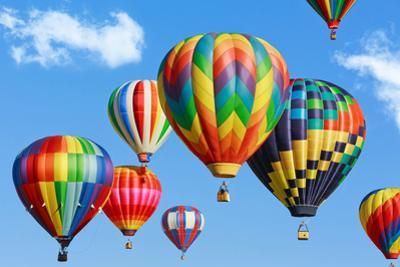 Colorful Hot Air Balloons by Mariusz Blach