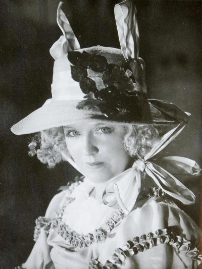 Mariya Babanova, Russian Actress, 1923--Giclee Print