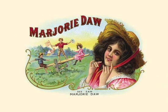 Marjorie Daw- Haywood, Strasser & Voigt Litho-Art Print