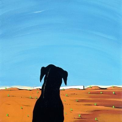 Black Dog in Chestertown, 1998