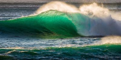 Giant storm surf, Oahu, Hawaii