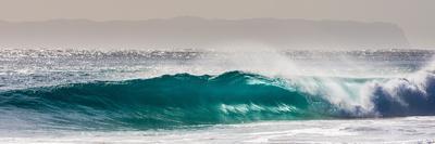Light Burst-Wave breaking off N. Stradbroke Island, Queensland, Australia-Mark A Johnson-Photographic Print