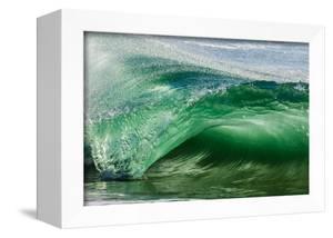 Shorebreak wave, Shelly Beach, Caloundra, Sunshine Coast, Queensland, Australia by Mark A Johnson