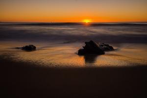 Sunrise at Shelly Beach, Caloundra, Sunshine Coast, Queensland, Australia by Mark A Johnson