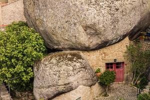 The amazing giant boulders in the village of Monsanto, Portugal by Mark A Johnson