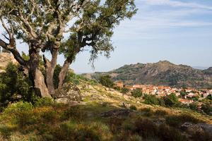 The rocky countryside outside of the village of Relva, Portugal by Mark A Johnson