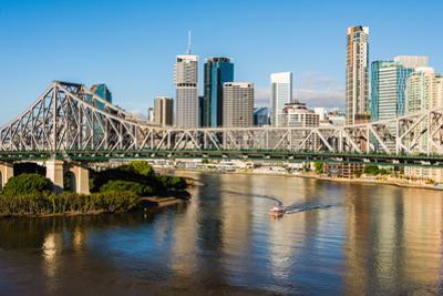The Story Bridge, Brisbane, Queensland, Australia by Mark A Johnson