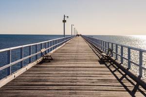Urangan Pier, Hervey Bay, Queensland, Australia by Mark A Johnson
