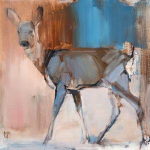 Doe a Deer, 2014, by Mark Adlington