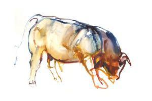 Little Bull, 2010 by Mark Adlington