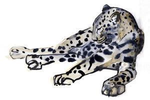 Recumbent (Arabian Leopard), 2008 by Mark Adlington