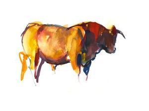 Sunset Bull, 2010 by Mark Adlington