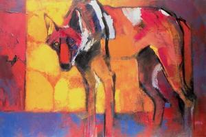 Wolf, 1996 by Mark Adlington