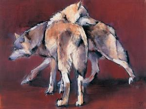 Wolf Composition, 2001 by Mark Adlington