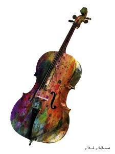 Cello by Mark Ashkenazi