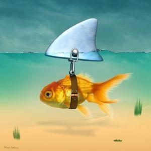 Gold Fish by Mark Ashkenazi