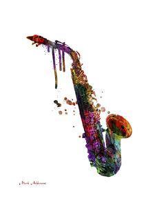 Saxophone 2 by Mark Ashkenazi