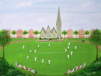 Cricket on Blackheath, 1993 by Mark Baring