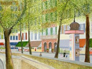 Paris Scene by Mark Baring