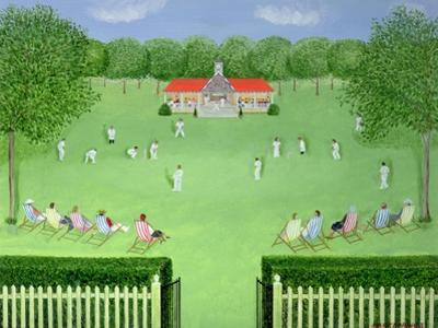 The Cricket Match, 1981 by Mark Baring