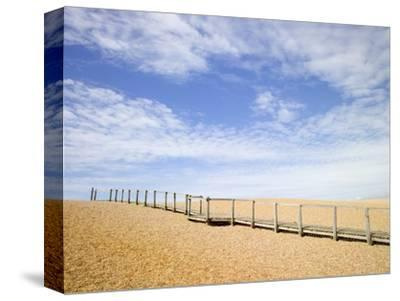 Boardwalk at Chesil Beach in Dorset