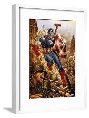 All-New, All-Different Avengers No.4 Cover and Featuring Captain America