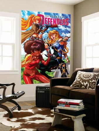Fearless Defenders #9 Cover: Misty Knight, Valkyrie, Bloodstone, Elsa, Moonstar