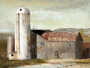 Barn Silo - Lubbock by Mark Chandon