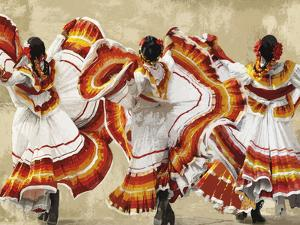 Folkloric Latin Dancers by Mark Chandon