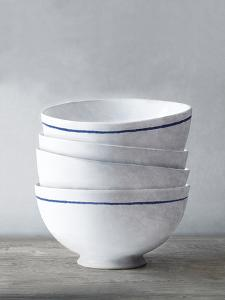 Four Artisan Bowls by Mark Chandon
